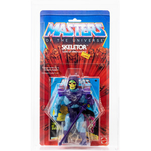 #151: 1983 MOTU Skeletor (rare clear bubble)