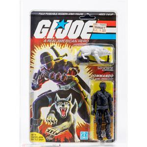 Lot #119: 1985 G.I. JOE Snake Eyes w/ Timber